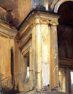 Sargent John Singer Roman Architecture