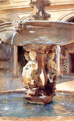 Sargent John Singer Spanish Fountain
