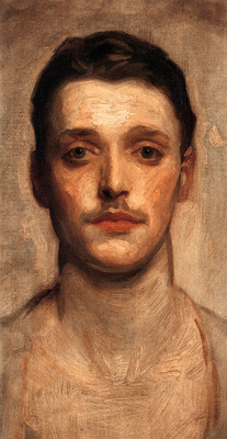 Sargent John Singer Study of a Young Man