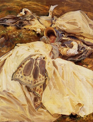 Sargent John Singer Two Girls in White Dresses