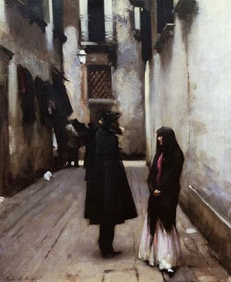 Sargent John Singer Venetian Street
