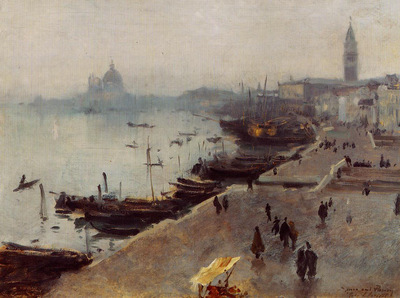 Sargent John Singer Venice in Gray Weather
