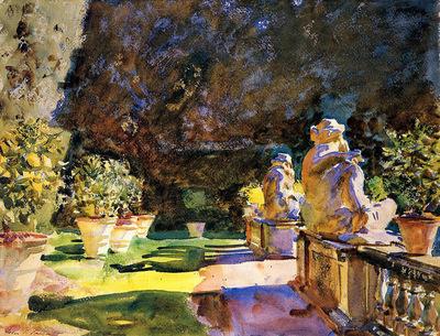 Sargent John Singer Villa di Marlia Lucca