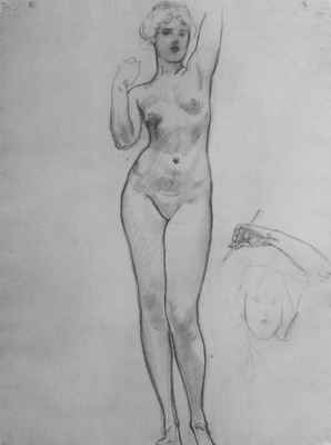 Sargent Studies of Aphrodite
