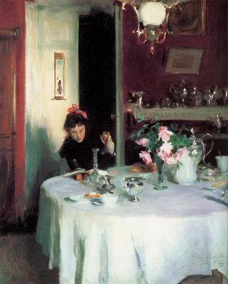 Sargent The Breakfast Table