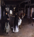 Sargent John Singer A Venetian Interior