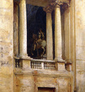 Sargent John Singer A Window in the Vatican