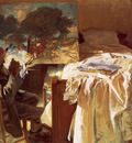 Sargent John Singer An Artist in His Studio