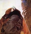 Sargent John Singer Autumn on the River aka Miss Violet Sargent