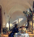 Sargent John Singer Breakfast in the Loggia