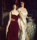Sargent John Singer Ena and Betty Daughters of Asher and Mrs  Wertheimer