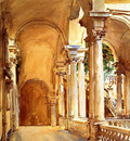 Sargent John Singer Genoa the University