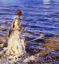 Sargent John Singer Girl Fishing