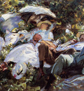 Sargent John Singer Group with Parasols A Siesta