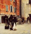 Sargent John Singer Leaving Church Campo San Canciano Venice