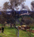Sargent John Singer Olive Trees Corfu