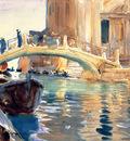 Sargent John Singer Ponte San Giuseppe di Castello Venice
