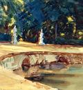 Sargent John Singer Pool in the Garden of La Granja