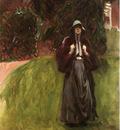 Sargent John Singer Portrait of Miss Clementina Austruther Thompson