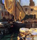 Sargent John Singer San Vigilio A Boat with Golden Sail