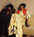 Sargent John Singer The Sulphur Match