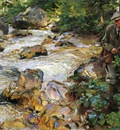 Sargent John Singer Trout Stream in the Tyrol