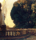 Sargent John Singer Villa Torlonia Fountain