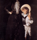 Sargent Mrs Edward L Davis and Her Son Livingston