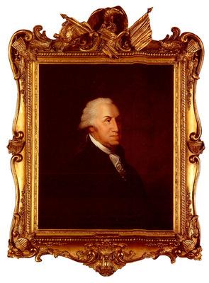 Savage Edward The Stedman Bust Portrait Of George Washington