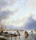 Schelfhout Andreas Scaters with sledge Sun