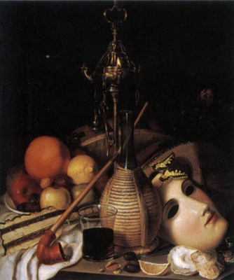 Still Life With Mask and Artefacts