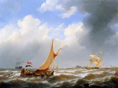 Schotel Johannes Sailing ships at Zierikzee Sun