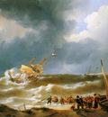 Schotel Johannes Wrecking the Delphine at Zandvoort