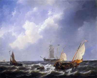 Schotel Petrus Johannes The Zeeuwse waters at Schouwen Sun