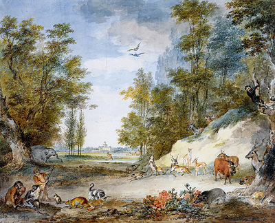 Schouman Aert Animals at Kleine Loo Sun