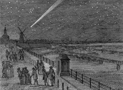 Schouman Aert Comet Amsterdam 1769 Sun