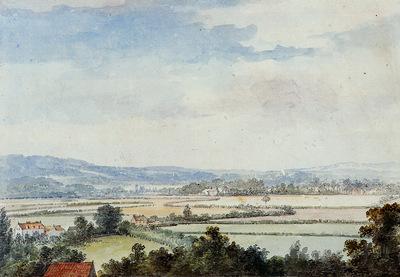 Schouman Aert Landscape near Windsor Sun