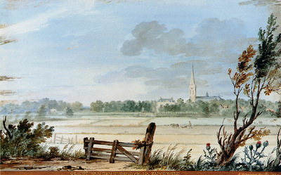 Schouman Aert View of Oudendyk at Zuydwind Sun