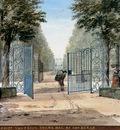 Schouman Aert View of iron gate Sun
