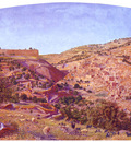 Seddon Thomas B Jerusalem And The Valley Of Jehoshaphat From The Hill Of Evil Counsel