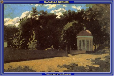 PO Vp S2 21 Sernesi The cupola of the Cascine