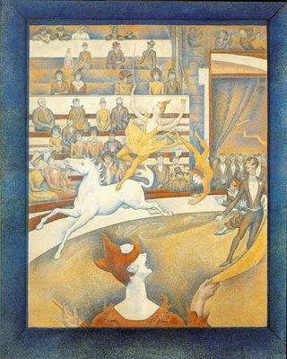 Seurat Cirque, 1891, Louvre