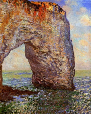 Seurat Georges The Bec du Hoc at Grandcamp Sun