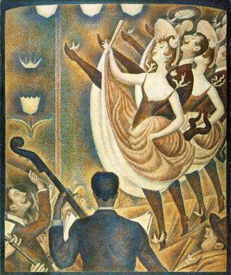 Seurat Le chahut, 1890, Kroller Mullermuseet, Otterlo