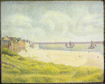 Seurat View of Le Crotoy, 1889,