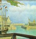 Seurat Sunday at Port en Bessin, 1888, Rijksmuseum Kroller M