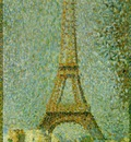 Seurat The Eiffel Tower, 1889,