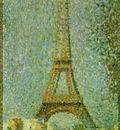 Seurat The Eiffel Tower, 1889,