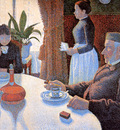 Signac Paul The breakfast Sun