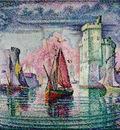 Signac Port of La Rochelle, 1921, 130x162 cm, Musee dOrsay